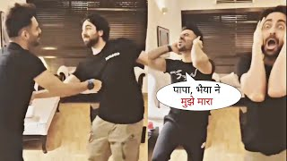 Ayushmann Khurrana and Aparshakti played a   - YouTube