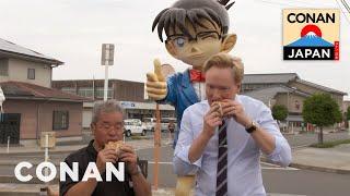 Conan Visits Conan Town In Japan | CONAN on TBS