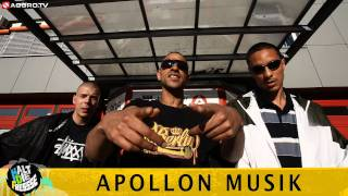 APOLLON MUSIK FEAT. DAVID BATTLE HALT DIE FRESSE 04 NR. 176 (OFFICIAL HD VERSION AGGRO TV)