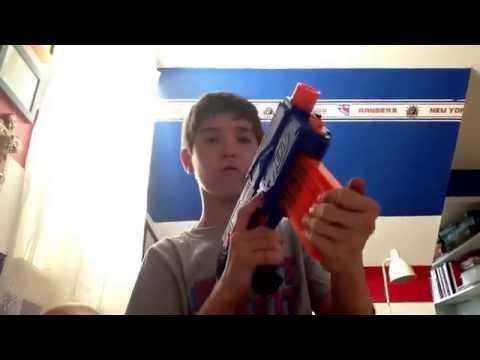 Epic nerf gun FAIL