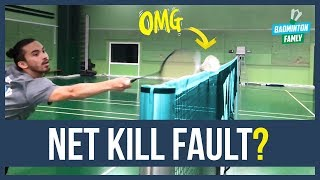 Net kill swipe technique tutorial | Badminton Famly