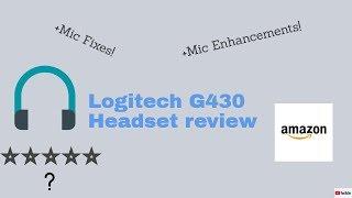 logitech g430 mic fix - Free video search site - Findclip Net