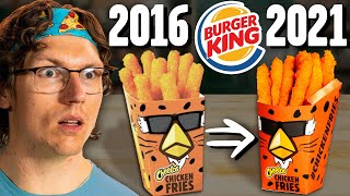 Recreating Burger King's Discontinued Cheetos Chicken Fries