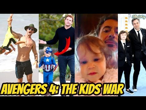 Avengers Kids Funniest Reaction On Their Parents Being Superheroes | Try Not To Laugh 2018