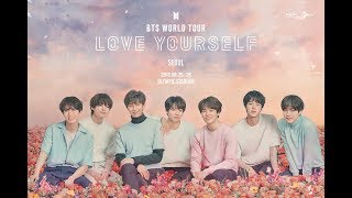 BTS Announces Dates BTS World Tour Love Yourself