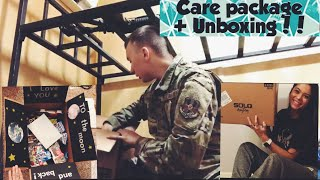 Military Care Package + Unboxing!!