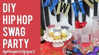 DIY Hip Hop SWAG Party - a Blog Hop with Marisa Pawelko and Sizzix