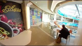 Открытие ТЦ Каширская плаза. Мой первый влог. 360° 4К