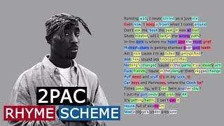 2Pac on Under Pressure | Rhyme Scheme