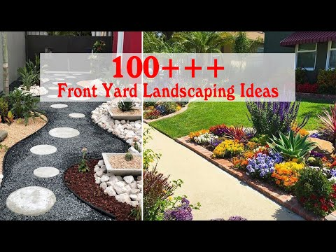 , title : '100 Simple and Wonderful Front Yard Landscaping Ideas On A Budget