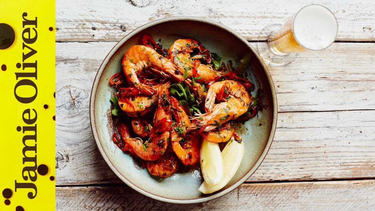 Chilli Garlic Prawns With Beer Matching John Quilter Jamie Oliver
