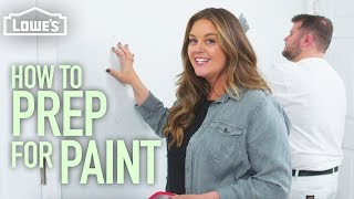 How to Prep for Painting (w/ Monica from The Weekender)