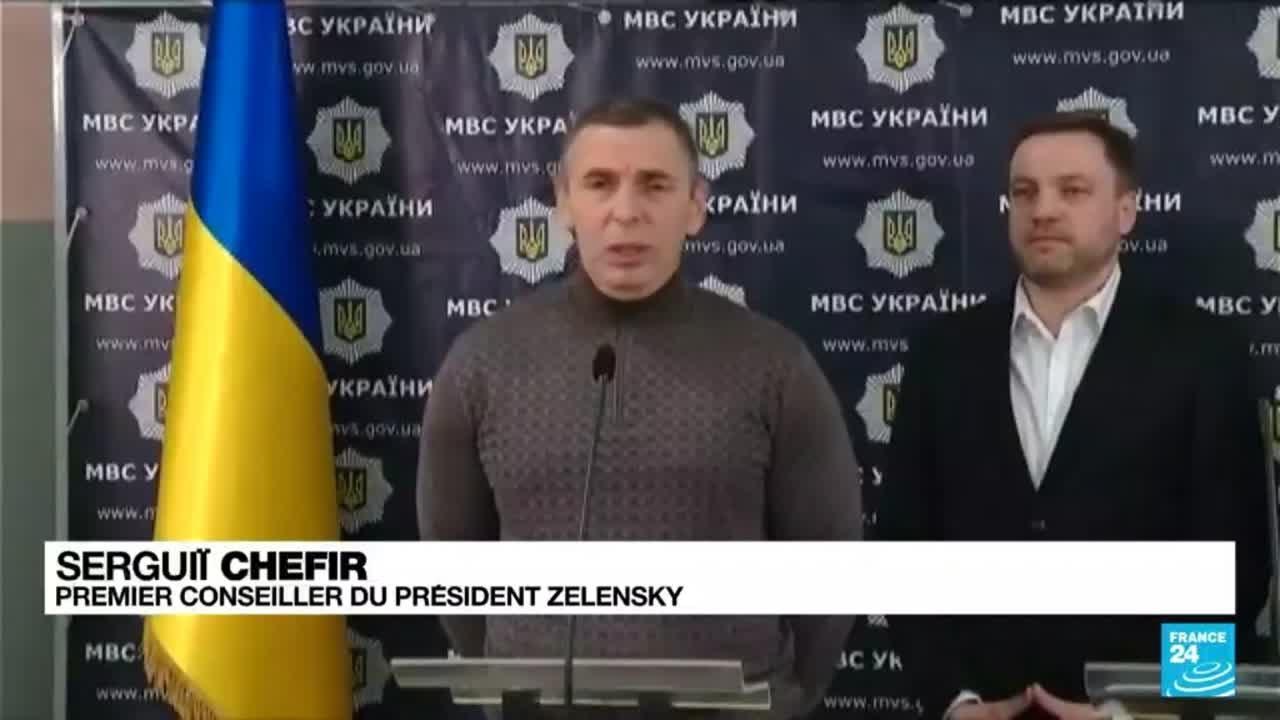 Un proche conseiller du président ukrainien visé par des tirs • FRANCE 24