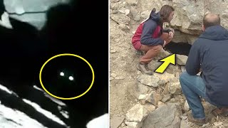Curious Hiker Peeks Into Abandoned Mine And Spots Two Eyes— Immediately Ran Home For Help