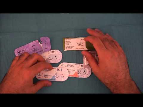 Caratteristiche dei fili ed aghi chirurgici