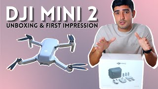 DJI Mini 2 Unboxing | New Ultra Portable 4K Drone