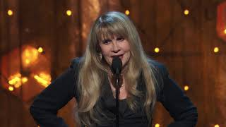 Stevie Nicks Acceptance Speech at the 2019 Rock & Roll Hall of Fame Induction Ceremony
