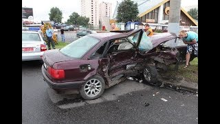ВИДЕО АВАРИЙ ДТП АВТОМОБИЛЕЙ AUDI СНЯТЫХ НА ВИДЕОРЕГИСТРАТОР Car Crash Channel №29