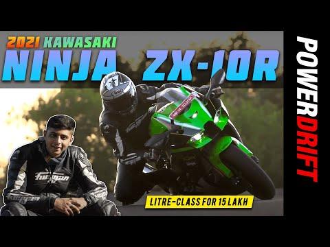 2021 Kawasaki Ninja ZX-10R | Most affordable litre-class superbike in India! | PowerDrift