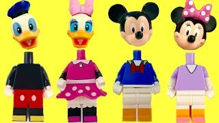 Fun with Mickey Mouse Clubhouse Legos  Colors with Paw Patrol