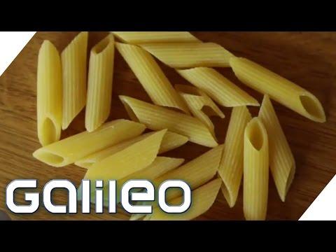 Wer hat die Nudel erfunden? Foodscan Nudel   Galileo   ProSieben