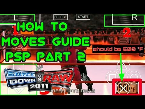 Download How to moves guide svr 2011 psp part 2 Wwe2k11 HD Mp4 3GP Video and MP3