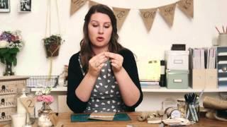 The Handmade Wedding: Burlap Cutlery Holders
