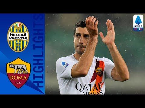 Hellas Verona 1-3 Roma   Kluivert, Perotti and Mkhitaryan Send Roma Fourth!   Serie A