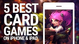 5 BEST CARD GAMES ON iPHONE AND iPAD