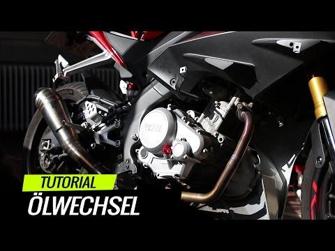Ölwechsel + Service Oil Anzeige zurücksetzen - Yamaha YZFR 125 | Tutorial