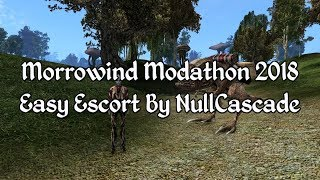 Morrowind Modathon 2018 - Easy Escort