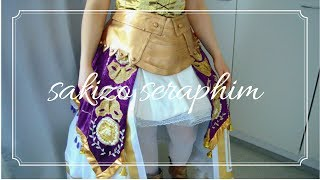 Sakizo Seraphim - Making of the skirts