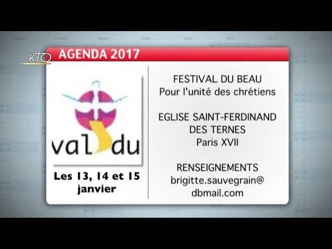 Agenda du 16 décembre 2016
