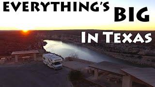 Church Ruins, BIG GUNS, & Random Border Patrol Inspections