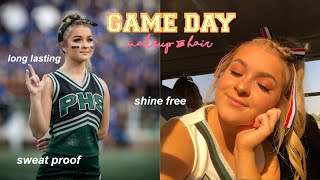 My Game Day Hair & Makeup Routine *SWEAT PROOF*