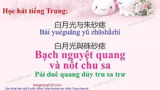 Bạch nguyệt quang và Nốt chu sa 白月光与朱砂痣 Bai yue guang yu zhu sha zhi