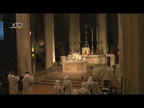 Vêpres et Eucharistie du 15 octobre 2016