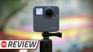 GoPro Fusion 360-Degree Action Camera Review | Best Consumer Camera for VR?