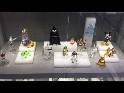 Swarovski crystal jewelry and figurines
