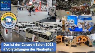 Das ist der Caravan Salon 2021 #Vorstellungen der Neuheiten