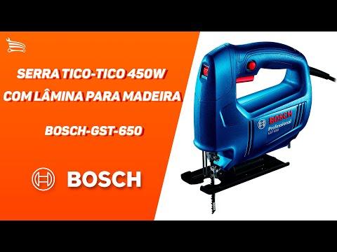 Serra Tico-Tico 450W  com Lâmina para Madeira - Video