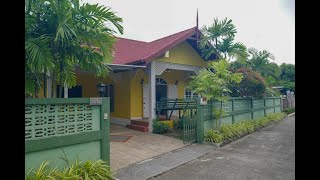 Charming Three Bedroom House in Quiet Chalong Residential Area