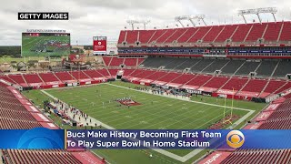 Bucs Make History Becoming First Team To Play Super Bowl In Home Stadium