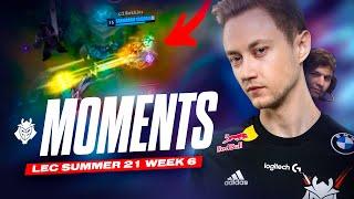 LEC : highlight & voicecomms de la semaine 6 des G2 Esports