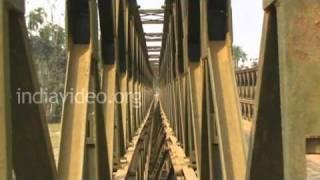 Damcherra Bridge in Tripura