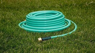 Before you buy a garden hose watch this video!