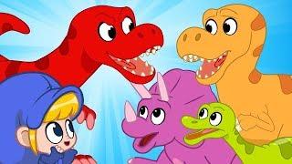 Morphle | The Dinosaur Park | Kids Videos | Learning for Kids |