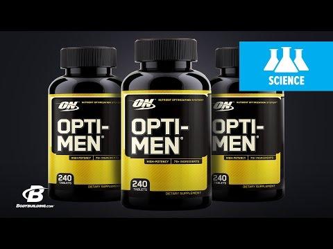 Optimum Nutrition Opti-Men Multivitamin   Science-Based Overview