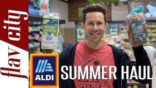 ALDI Summer Grocery Haul - What To Buy And Avoid Right Now!