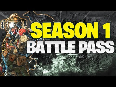 Season 1 Battle Pass: Apex Legends (2019 Roadmap)